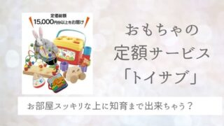 トイサブ 知育玩具 レンタル